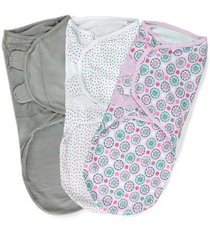 Summer Infant Набор конвертов для пеленания на липучке SwaddleMe Розовые цветы (3 шт.), размер L  — 2650р.  75860 SWADDLEME® Конверт для пеленания на липучке, размер L, , (3шт в упаковке), розовые цветы