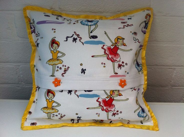 Tiny Dancer  Hypoallergenic Bespoke Cushion By Saint Dorothy. FREE DELIVERY!