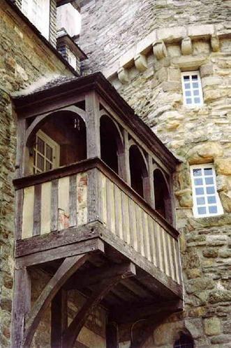 Une des rares vieilles demeures de Saint-Malo a ne pas avoir été détruite pendant la seconde guerre mondiale.