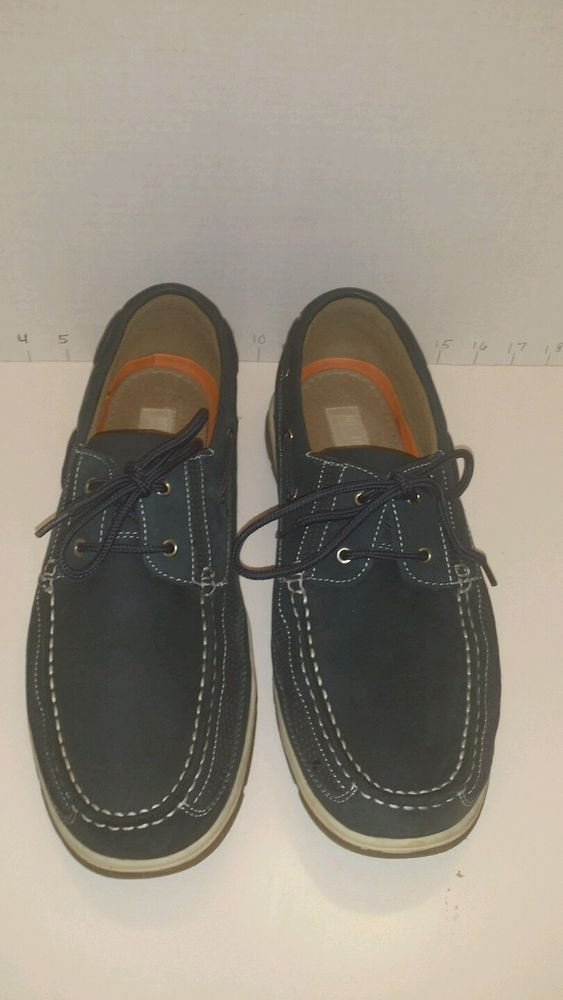 Reel Legends Skipper Men's Boat Shoes Size 13M excellent condition green  #ReelLegends #BoatShoes Like what you see? Check out the Store!