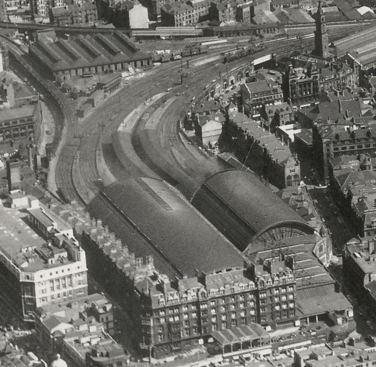 St Enoch Station - replaced by a big Greenhouse