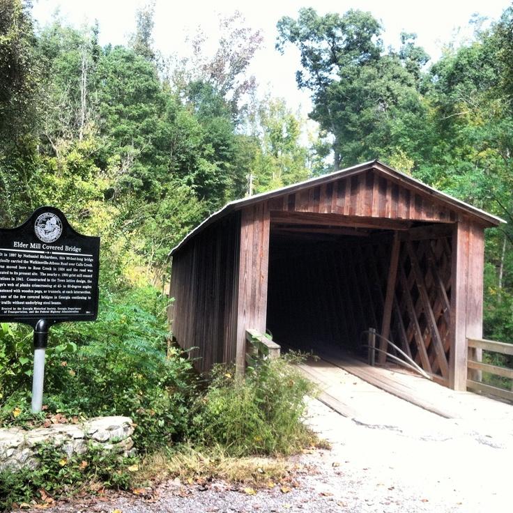 Elder's Mill Covered Bridge - Georgia