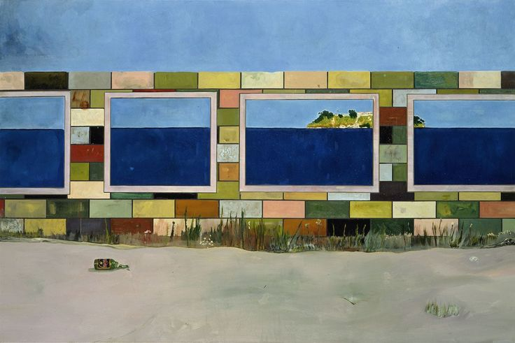 Peter Doig - House of Pictures (Carrera), 2004. Oil on canvas, 200 x 301 cm.