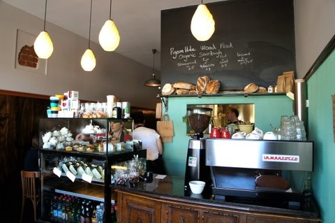 For a yummy breakfast or brunch.. Pigeon Hole Cafe, Hobart, Tasmania..