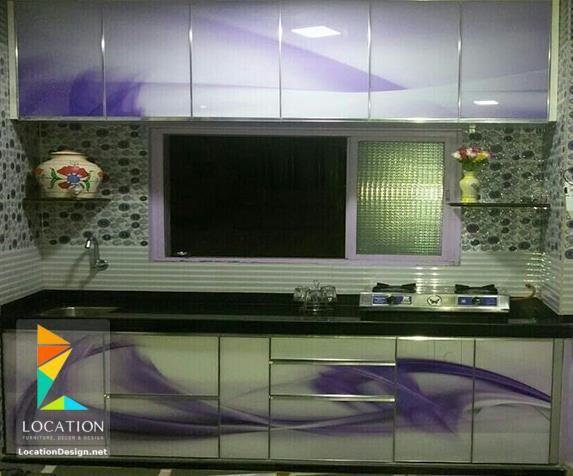 مطابخ المنيوم 2018 2019 ارقى تصميمات المطابخ الألمونيوم Flat Screen Electronic Products Flatscreen Tv