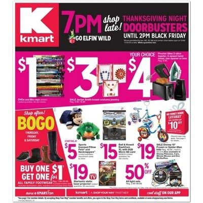 View the Kmart Black Friday 2016 Ad with Kmart deals and sales
