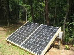Living Off The Grid refers to not being connected to a main power grid facility to receive electricity. Power can be generated by your own stand-alone systems using solar power, wind power and water turbines. - www.freeresidentialsolarpower.com