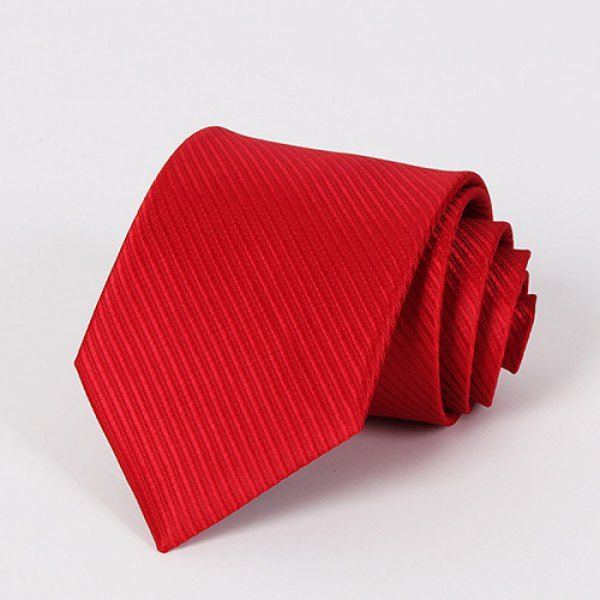 Stylish Wedding Formal Occasion Men's Bright Red Tie #women, #men, #hats, #watches, #belts, #fashion