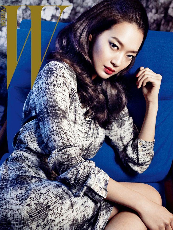 Shin Min Ah - W Magazine September Issue '11