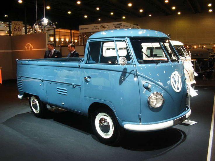 volkswagen t1 pick up vw pinterest volkswagen vw bus and cars. Black Bedroom Furniture Sets. Home Design Ideas