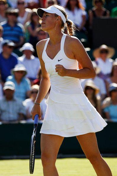 Wimbledon Whites: Maria Sharapova