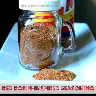 Homemade Red Robin Seasoning-easy, healthified, tasty!