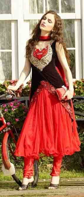 SF New Bollywood Indian Salwar Pakistani Designer Wear Anarkali Salwar Kameez #LookBollywood #BollywoodSalwarKameez