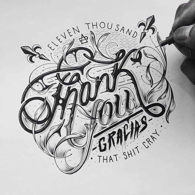 Being a font designer and general typography lover, it baffles me how I've never come across the incredible hand lettering work of Raul Alejandro before today. His work is so crisp, so creative and full of life…