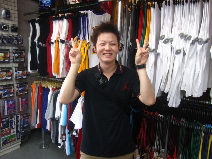 【新宿2号店】2014.07.04 楽しいお話が出来てよかったです(・∀・)バスケの練習も頑張ってください☆またお待ちしておりま~す