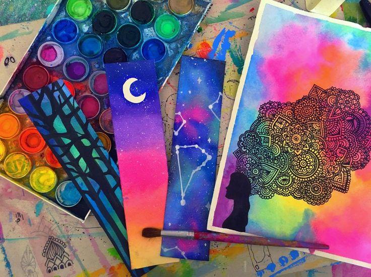 Más De 25 Ideas Increíbles Sobre Pintar Con Acuarela En