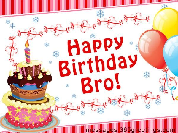 Happy Birthday Message For Brother ~ Top ideas about happy birthday brother on pinterest wishes