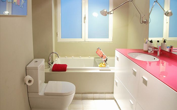 Розовая мебель от Isolina Mallon Interior Design
