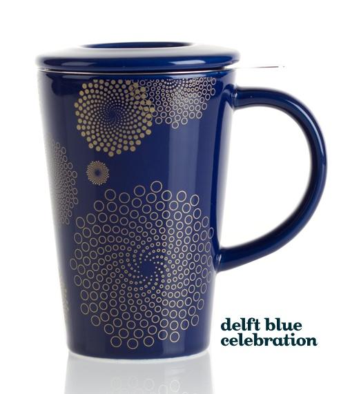 "Delft Blue Celebration ""Perfect Mug"" - David's Tea"