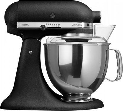 KitchenAid Artisan KSM150 Professional-Set, 4.8 l, schwarz #Küchenset #Küchenmaschine #Küchengerät #Küche #Haushalt #Galaxus