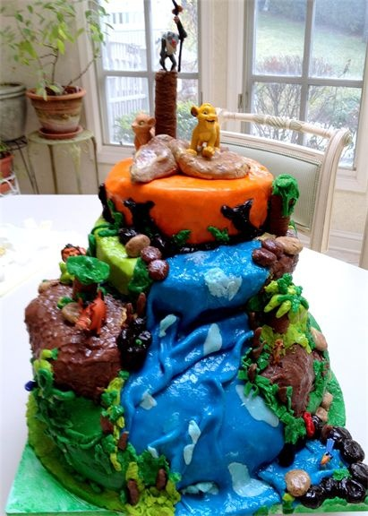 169 best Cakes Lion King images on Pinterest Anniversary cakes