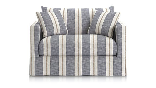 Slipcovered Twin Sleeper Sofa
