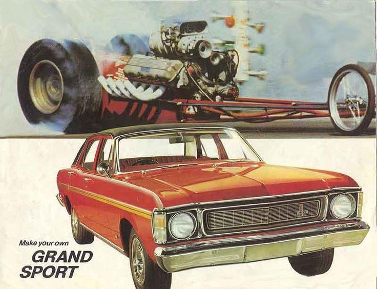 1969 Ford XW Falcon GS Brochure (Australia)