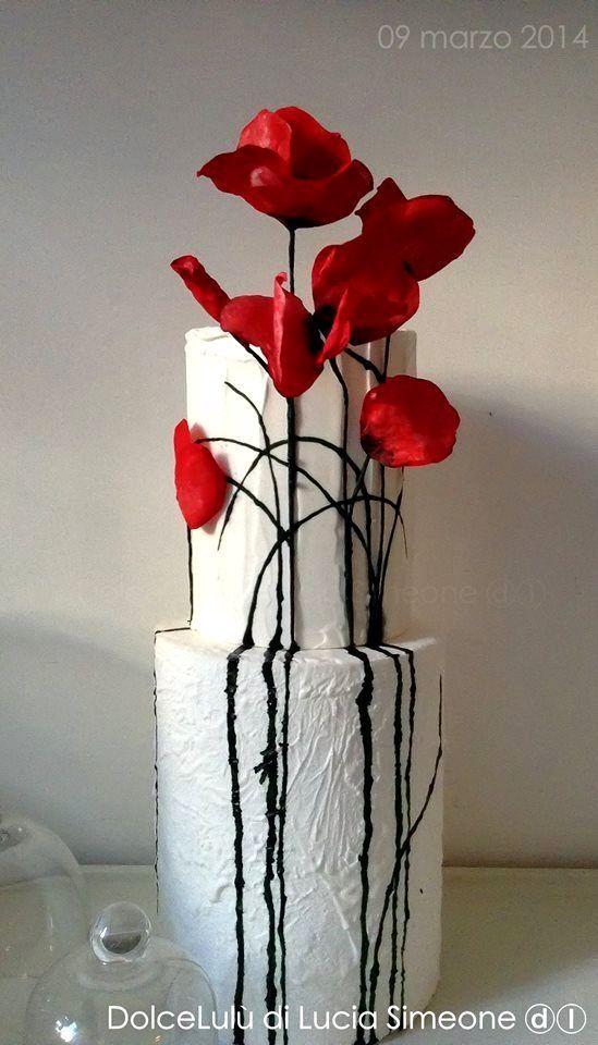 Wilton Cake Decorating Classes Online Wedding Cake Decorations Classes Decorating Decorations Online Wed Poppy Cake Flower Cake Cake Decorating Classes