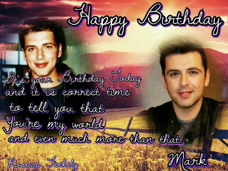 Happy Birthday 36'th Anniversary My Love idol Mark...muahhhh <3