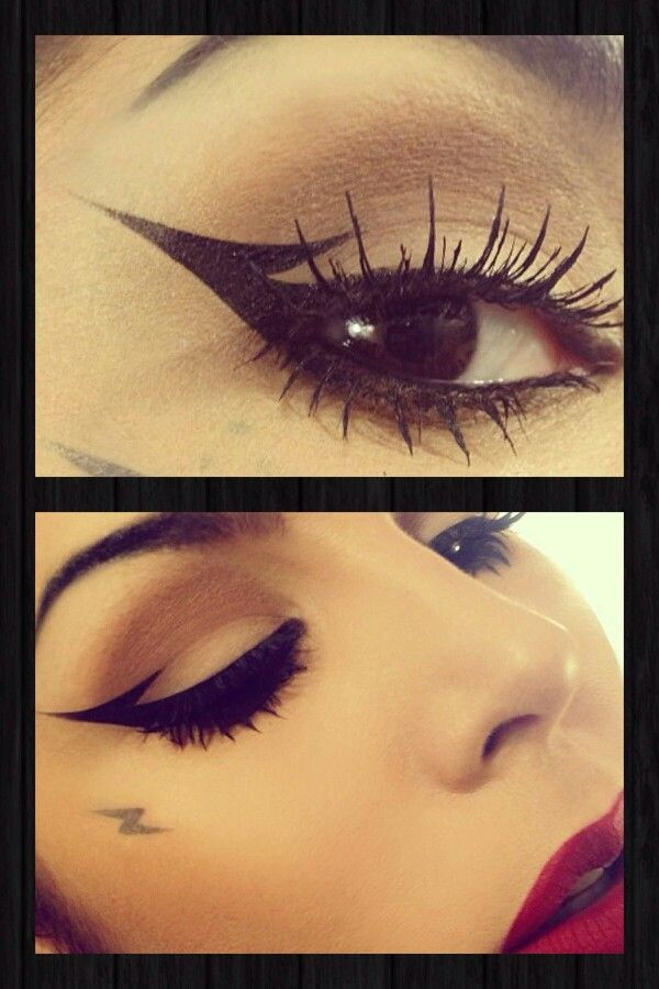 Kat Von D .....I l love the eyeliner!!!