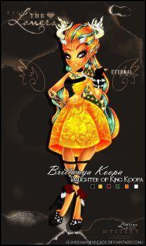 Brittanya Koopa - Daughter of King Koopa by GuardianofArcade