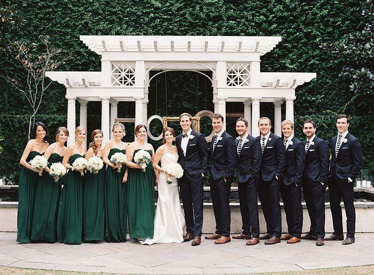 Photography: Virgil Bunao Fine Arts Photography - virgilbunao.com  Read More: http://www.stylemepretty.com/2014/03/26/emerald-green-wedding-at-william-aiken-house/