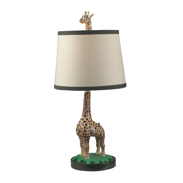 Who doesn't like a cute giraffe table lamp? At Design Lighting in Surrey, BC