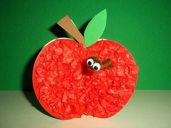 A is for APPLE craft kit by kazsmom on Etsy, $3.75