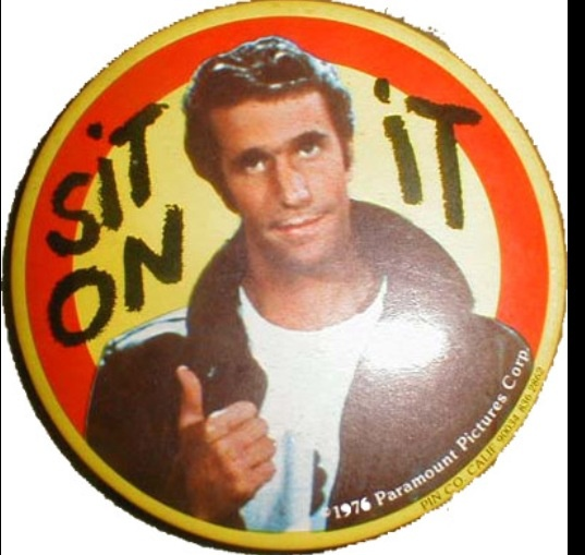 The Fonz from Happy Days-- a really great show!