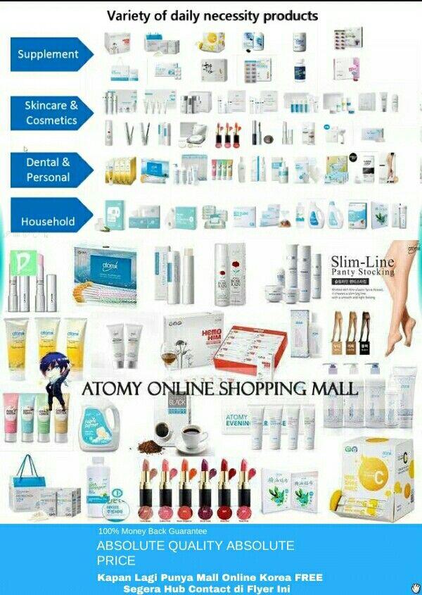 Wa 085257630756 Peluang Bisnis Supermarket Online Atomy Dari Korea Mlm Gratis Terbaru 2018 Peluang With Images Dental Cosmetics Cosmetic Skin Care Online Shopping Mall