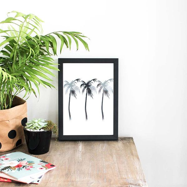 Peach & Co - Palms Print (from $25).
