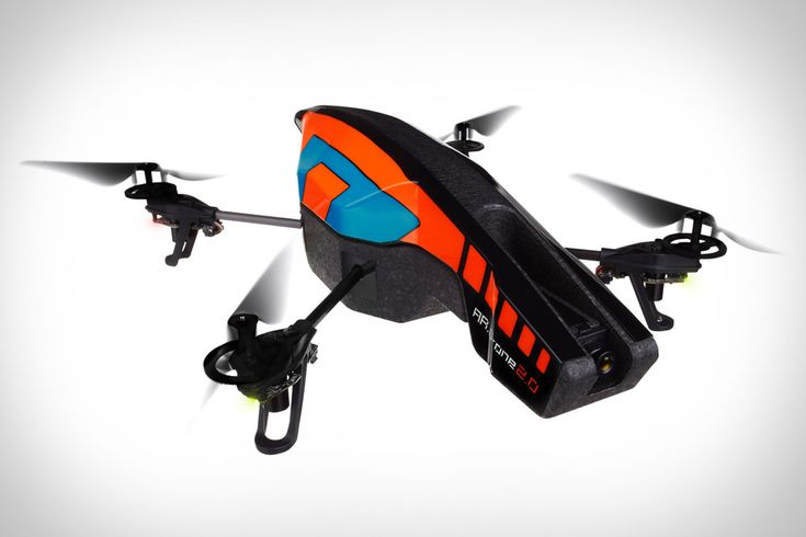 What's better than shooting missiles? Shooting HD video. The Parrot AR.Drone 2.0 ($300), the new version of the smartphone-controlled quadricopter, adds a new high-def camera, video recording (1280 x 720 res), flight data sharing, a new piloting mode, and increased stability. Like the original, the AR.Drone 2.0 is powered by a rechargeable lithium-ion battery.