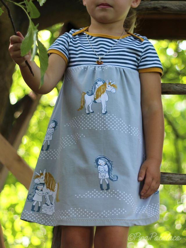 pipa pocoloco: Einhorn-Kinderkleid