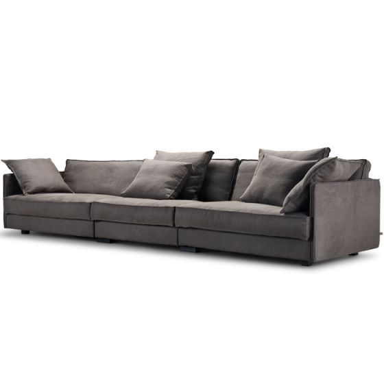 CASUAL ELEGANCE Clean Lines And Interesting Edging Give FLAP Its  Comfortable Yet Elegant Look. Its High Back And Deep Seat Make It The  Perfect Sofa To Curl ...