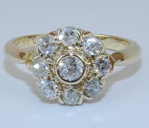 Unique Antique Diamond Rings