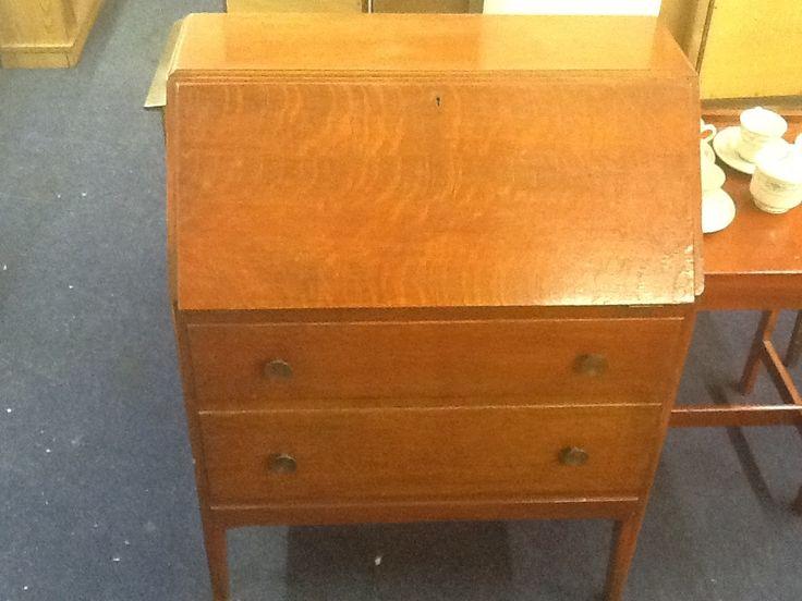 Original redwood,writing bureau .....