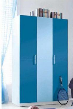 Шкаф платяной 3- дверный Шкаф для хранения одежды 3-дверный с внутренними полками, выдвижными ящиками, штангой для вешалок