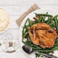 Poules de cornouailles au beurre blanc à l'érable – Recettes – Exceldor