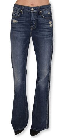 7 for all mankind   high waist vintage bootcut (grinded vintage indigo   klōthe
