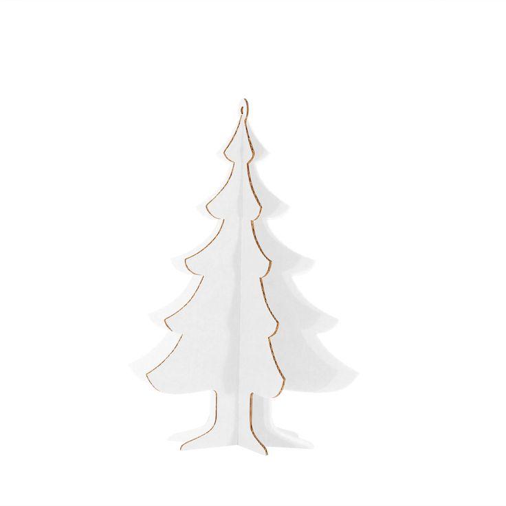 ALBERELLO DI NATALE BASIC L A003454  #cardboard #christmas #tree