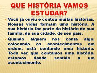 História 6º ano