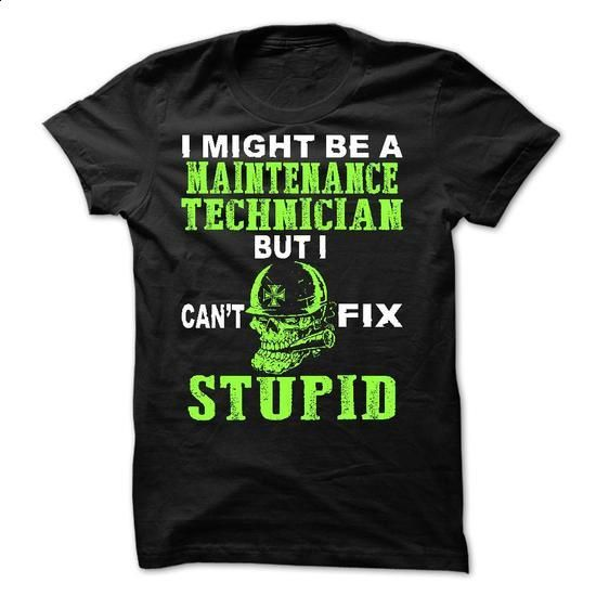 Maintenance Technician - #long sleeve t shirts #army t shirts. CHECK PRICE => https://www.sunfrog.com/LifeStyle/Maintenance-Technician-59570071-Guys.html?60505