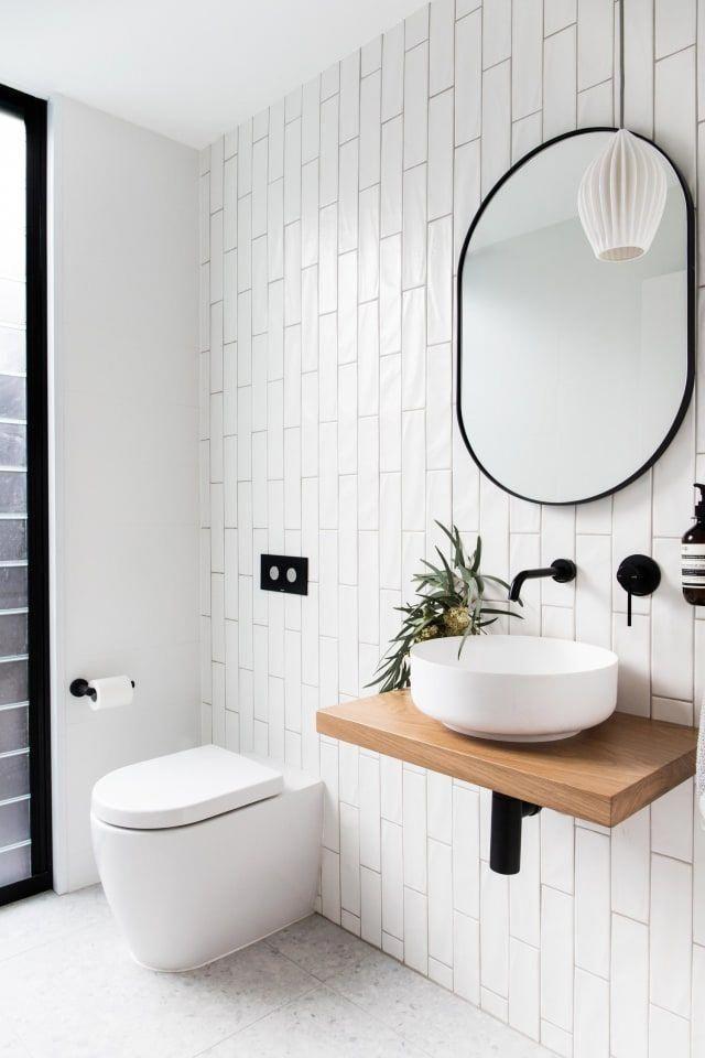 Vertical Stacked Subway Tile Bathroom Vertical Stacked Subway Tile