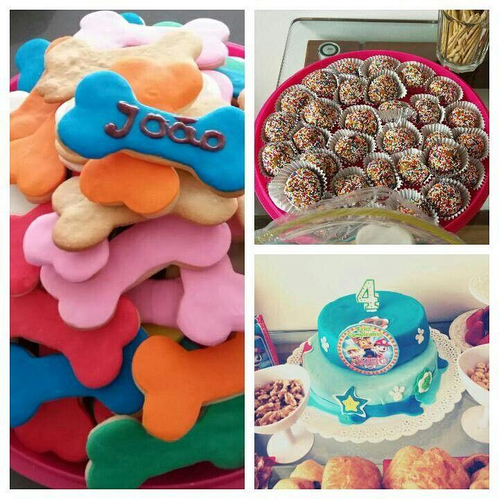 Preparação da festa de aniversário de um pequeno amigo!!!